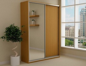 Встроенный шкаф-купе шириной 1,5 метра